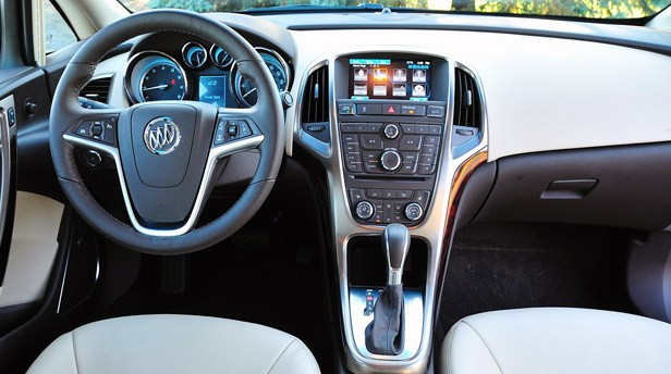 2012 Buick Verano interior