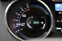 2011 Hyundai Sonata Hybrid eco gauge