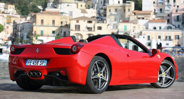 2012 Ferrari 458 Spider W Video Autoblog