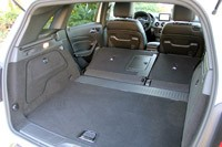 2012 Mercedes-Benz B-Class rear cargo area
