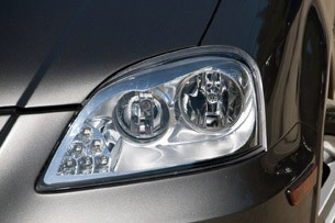2012 Coda Sedan headlight