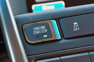 2012 Buick Verano engine start/stop button