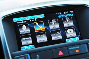 2012 Buick Verano multimedia system