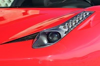 2012 Ferrari 458 Spider headlight