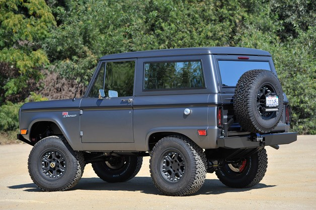 Icon Bronco rear 3/4 view