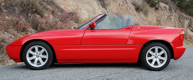 1989 BMW Z1 side view