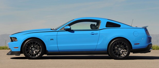2011 Ford Mustang RTR side view