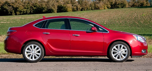 2012 Buick Verano side view