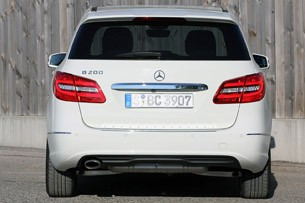 2012 Mercedes-Benz B-Class rear view