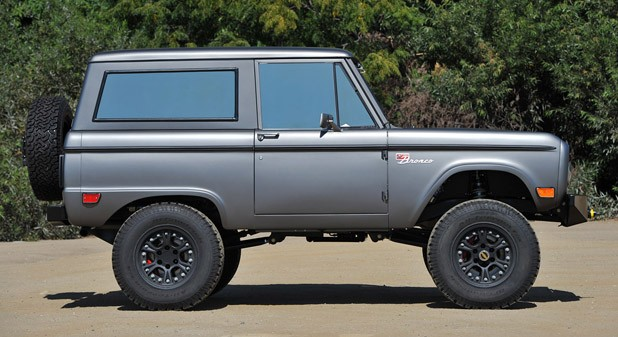 Icon Bronco side view