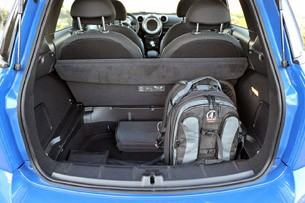2011 Mini Countryman rear cargo area