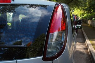 2012 Mitsubishi i taillight