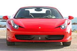 2012 Ferrari 458 Spider front view