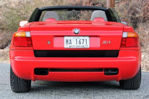 1989 BMW Z1 rear view
