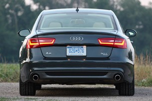 2012 Audi A6 3.0T Quattro side view