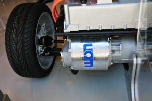2012 Coda Sedan electric motor