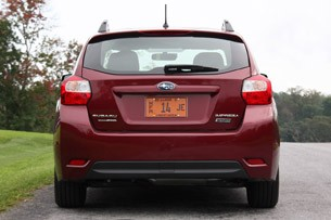 2012 Subaru Impreza rear view