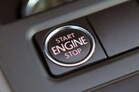 2011 Volkswagen Jetta TDI engine start button