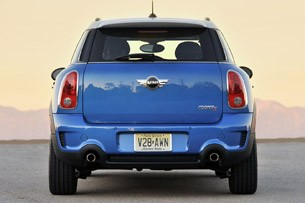 2011 Mini Countryman rear view