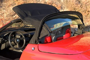 1989 BMW Z1 convertible top