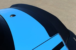 2011 Ford Mustang RTR rear spoiler