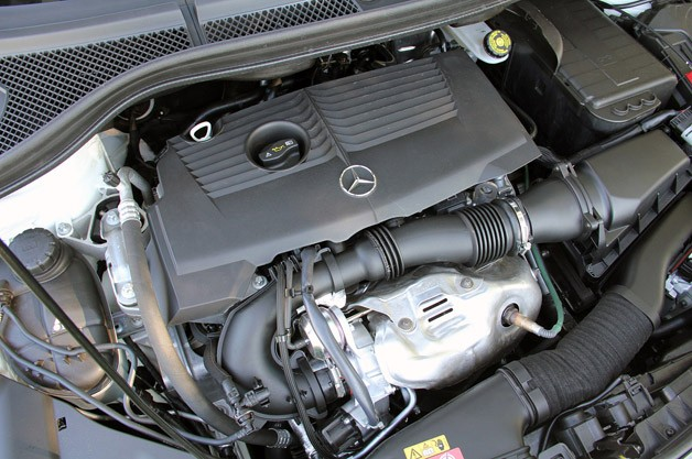 2012 Mercedes-Benz B-Class engine