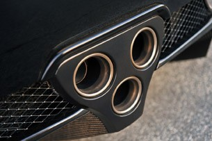 2012 Lexus LFA exhaust tips