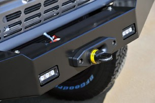 Icon Bronco winch housing