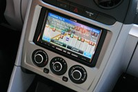 2012 Coda Sedan navigation system