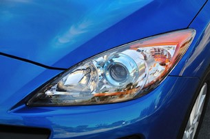 2012 Mazda3 Skyactiv headlight