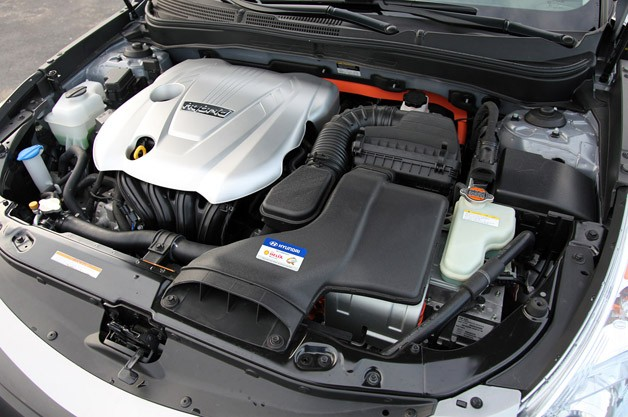 2011 Hyundai Sonata Hybrid engine