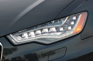 2012 Audi A6 3.0T Quattro headlight