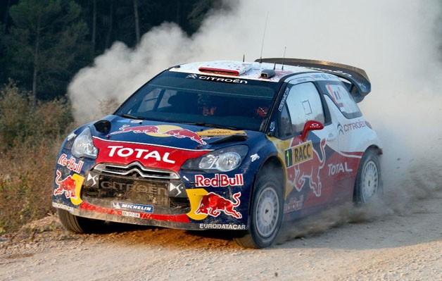 Sebastien Loeb wins Rally of Spain