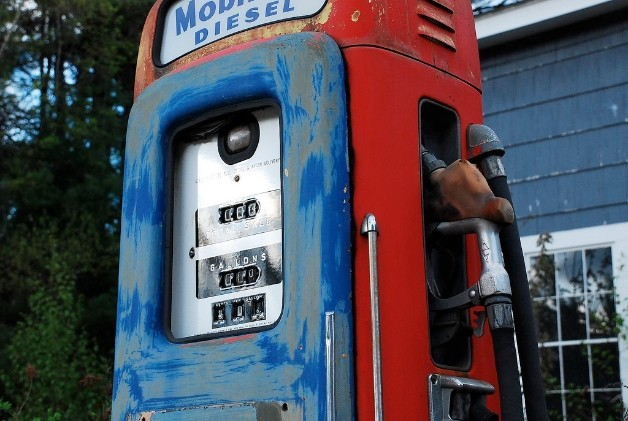 Maine gas pump