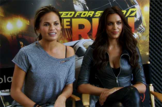 Need For Speed combines SI swimsuit models and video games - Autoblogyoung models video
