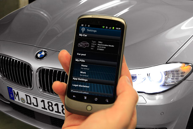 My BMW Remote App for Android