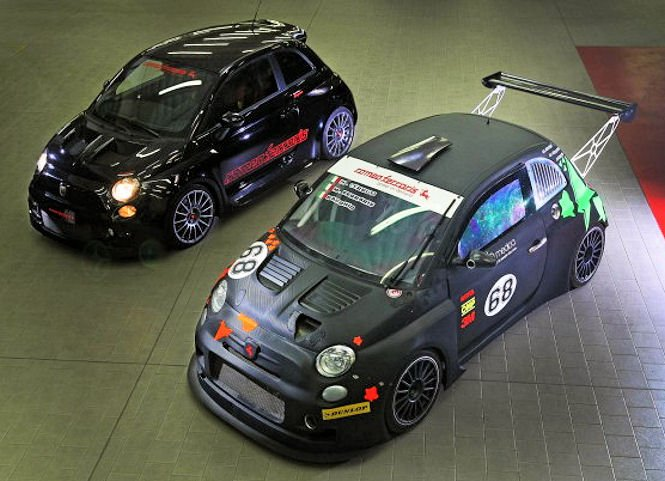 Best Gas Prices >> Romeo Ferraris goes Stradale with latest Abarth 500 mod - Autoblog