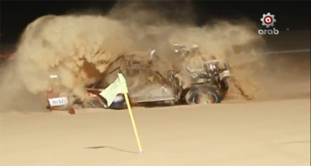 Sand Rail Crash in the UAE