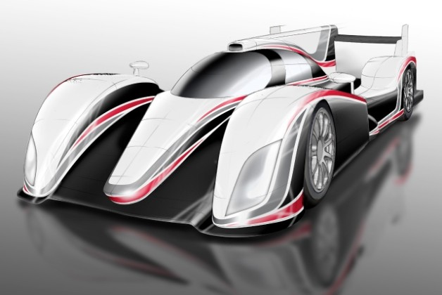 Toyota LMP1 rendering