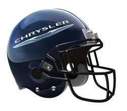 Chrysler football helmet