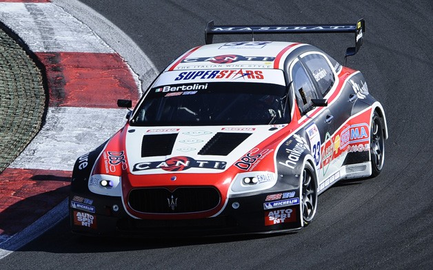 Andrea Bertolini wins 2011 Superstars Series with Maserati Quattroporte Evo