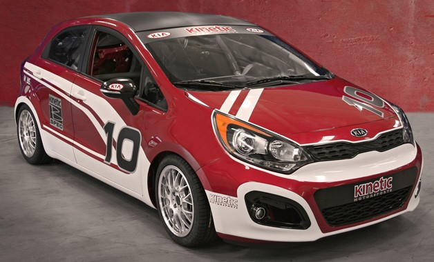 Kia Rio B-Spec racer