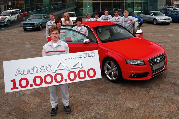 10,000,000th Audi 80/A4