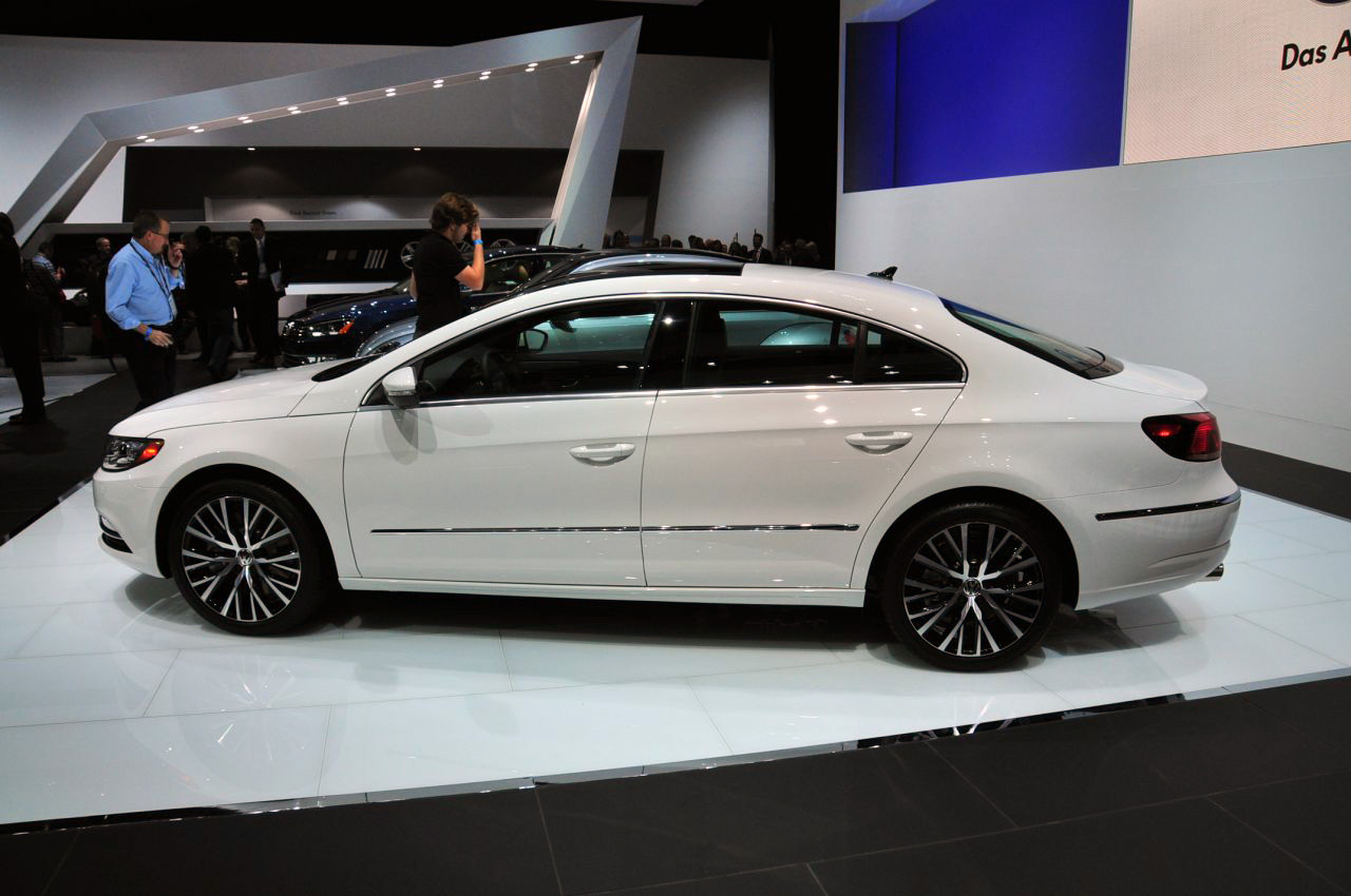 2013 Volkswagen Cc Reveals Facelift And Optional Seating