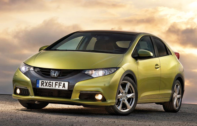 2012 Honda Civic five-door (UK)