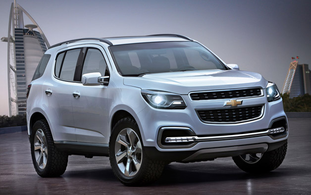 General Motors has unveiled its next-generation Chevrolet TrailBlazer
