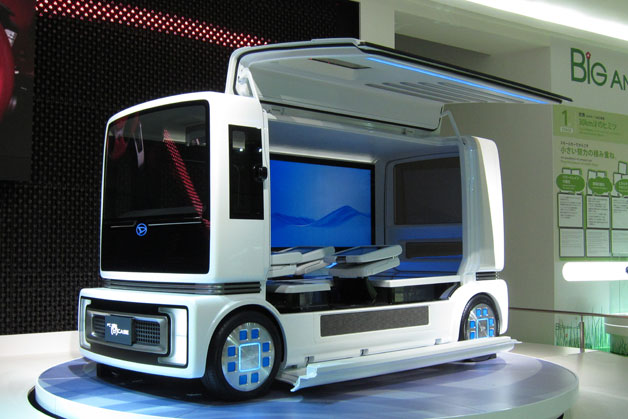 01 dai fc case live 628 Daihatsu FC Case Concept is autonomous, high tech transportation