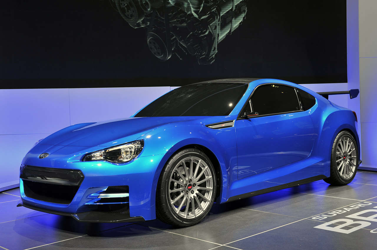 Black Book Car Values >> Subaru BRZ Concept STI looks fast, furious - Autoblog