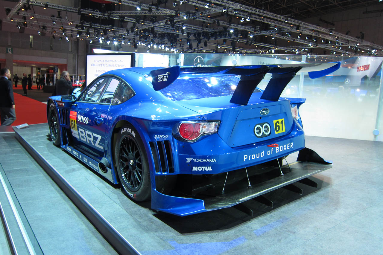 Subaru Brz Gt300 Set To Take On Supergt Autoblog