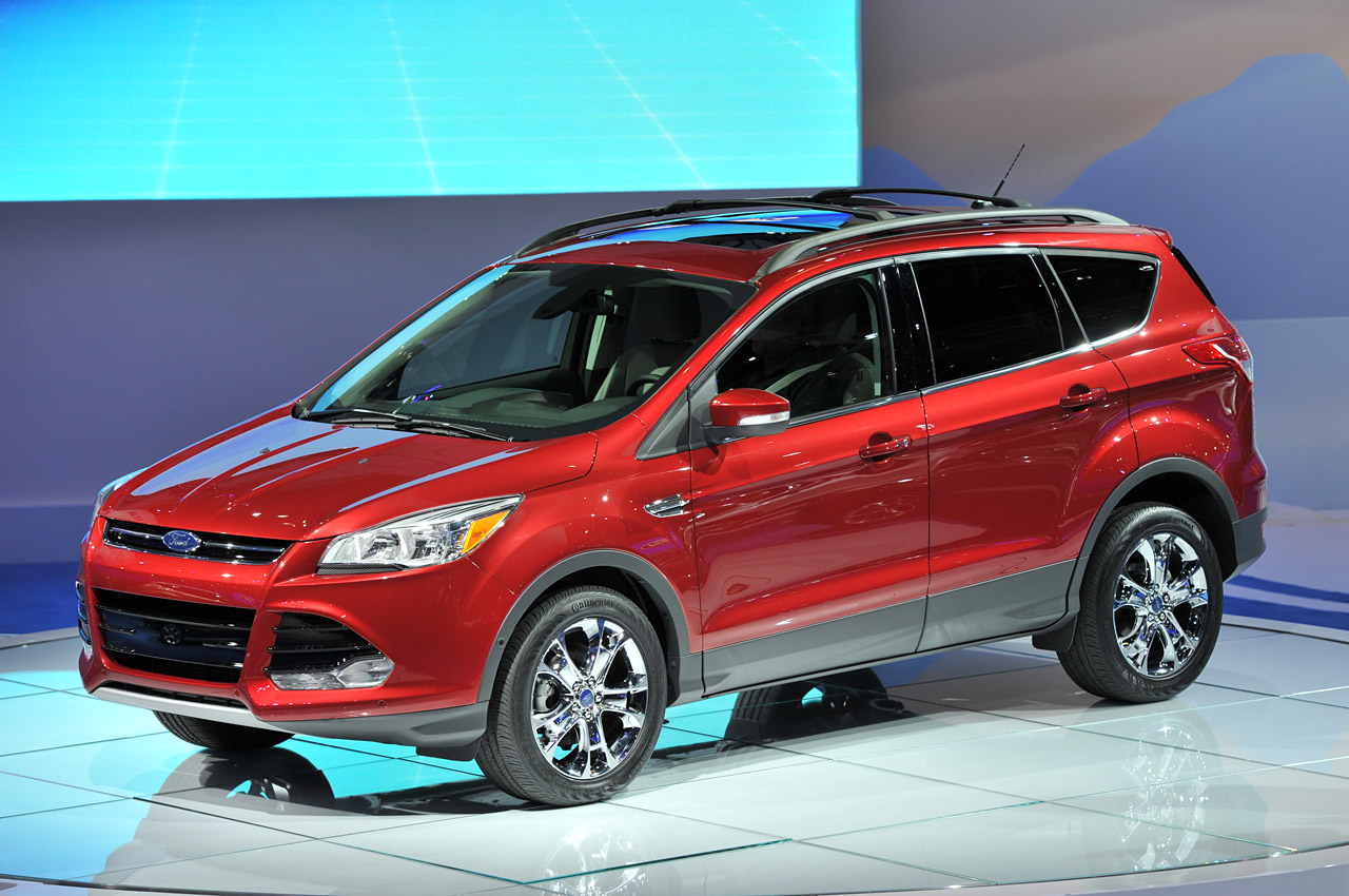 2013 ford escape looks better in la autoblog. Cars Review. Best American Auto & Cars Review
